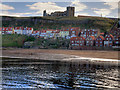 NZ9011 : Whitby Harbour and the Church of St Mary by David Dixon