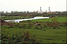 SK7953 : River Trent, Off Millgate, Newark on Trent, Notts. by David Hallam-Jones