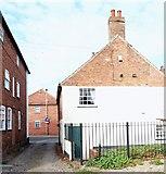 SK7953 : Off Millgate, Newark on Trent, Notts. by David Hallam-Jones