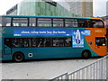 ST3188 : Cardiff Bus double-decker in Friars Walk Bus Station, Newport by Jaggery