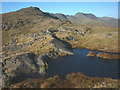 NY2803 : Tarn on top of Blake Rigg by Karl and Ali