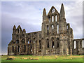 NZ9011 : Whitby Abbey, North Face by David Dixon