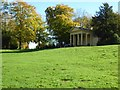 SP6736 : Western Lake Pavilion, Stowe by Philip Halling