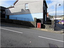 SS9992 : Disused electricity cabinet on a Tonypandy corner by Jaggery