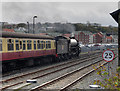NZ8910 : Steam Train at Whitby by David Dixon