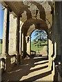 SP6837 : On the Palladian Bridge, Stowe Park by Philip Halling