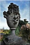 TQ1352 : Polesden Lacey: Urn by Michael Garlick