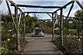 TQ1352 : Polesden Lacey: The rose garden by Michael Garlick