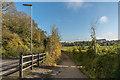 TQ2057 : Alongside Langley Vale Road by Ian Capper