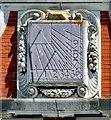 SJ0478 : Bodrhyddan Hall sundial by Gerald England