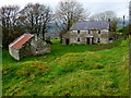H5384 : Old farm buildings, Glenmacoffer by Kenneth  Allen