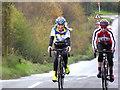 H5285 : Cyclists, Glenmacoffer by Kenneth  Allen