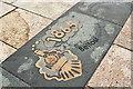 J5081 : Belfast railway line ground plaque, Bangor (November 2017) by Albert Bridge