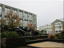 NS2776 : 'Men of the Clyde', Clyde Square by Jonathan Thacker