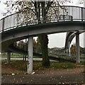 SK5135 : Footbridge ramp by David Lally