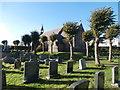 ST0780 : St David's Church, Groesfaen by John Lord