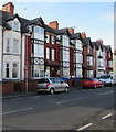 SJ0080 : Three-storey houses, Warren Road, Rhyl by Jaggery