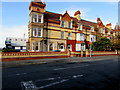 SJ0080 : Three-storey houses, Seabank Road, Rhyl by Jaggery