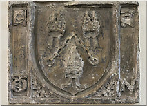 SP0343 : Old stone from Evesham Abbey by J.Hannan