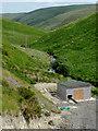 SN7453 : New turbine house in Upper Cwm Doethe, Ceredigion by Roger  Kidd