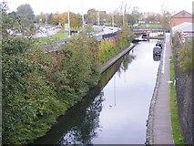SO9198 : Wolverhampton Canal Scene by Gordon Griffiths