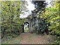 NZ1456 : Archway at Pontburn by Robert Graham