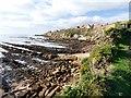 NO5502 : Rocky coastline at Pittenweem by Graham Hogg