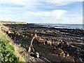 NO5302 : Rocky coastline at Blind Capul by Graham Hogg