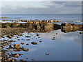 NO5804 : The Firth of Forth foreshore at Basket Rock by Graham Hogg