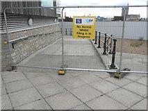 TR3140 : Fence across a path by John Baker