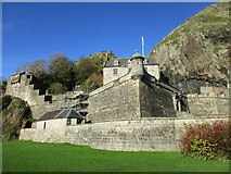 NS4074 : Dumbarton Castle by Jonathan Thacker