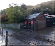 SO4494 : Information office, Carding Mill Valley, Church Stretton by Jaggery