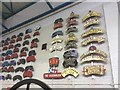 SE5951 : Railway Badges in National Railway Museum York by Jennifer Petrie