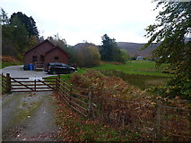 NN3578 : Fersit Log Cottage by Richard Law
