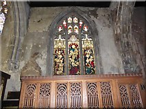 TA1028 : St Mary, Lowgate: stained glass window (e) by Basher Eyre