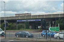 TQ0975 : Hatton Cross Underground Station by N Chadwick