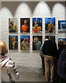 TQ3081 : In the foyer of the Donmar Warehouse theatre : Week 45