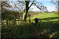 SE8061 : Chalkland Way at Deepdale Wold by Ian S