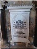 TA0339 : Beverley Minster: memorial (4) by Basher Eyre