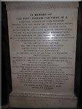 TA0339 : Beverley Minster: memorial (10) by Basher Eyre