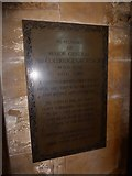 TA0339 : Beverley Minster: memorial (13) by Basher Eyre