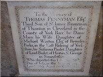 TA0339 : Beverley Minster: memorial (42) by Basher Eyre