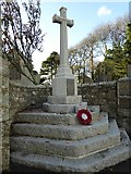 SW7337 : Stithians war memorial by Philip Halling