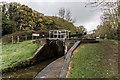 SJ8935 : Trent & Mersey Canal Lock 33 by Brian Deegan