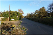 TM3569 : Entering Sibton on the A1120 Chapel Street by Adrian Cable