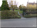 TM3569 : Path off the A1120 Chapel Street by Adrian Cable