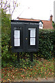 TM3569 : Sibton Village Notice Board on Pouy Street by Adrian Cable