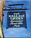 SO7875 : The Real Ale Tavern (2) - sign, 67 Load Street, Bewdley, Worcs by P L Chadwick
