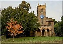 SK2957 : St Mary's Church, Cromford by Paul Harrop