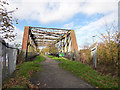 SJ3894 : Former Townsend Avenue railway bridge by Stephen Craven